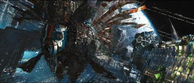 Le nombre de détails visuels est vertigineux. Ici, la planète Orus.