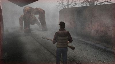 Du brouillard. Des créatures difformes et répugnantes. Un héros qui ne paie pas de mine. On est bien à Silent Hill (Origins).